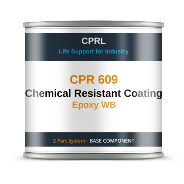 CPR 609 – Chemical Resistant Coating – Epoxy WB - Base